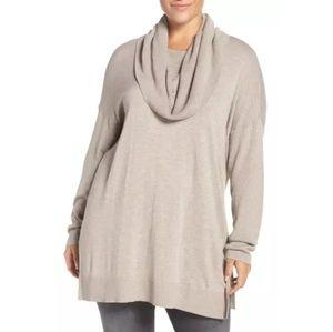 NWOT Caslon cowl neck sweater